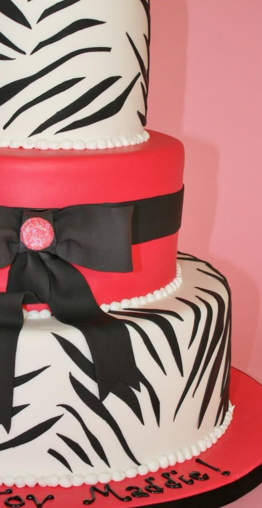 Bas-Mitzvah-Cakes-NJ-Zebra-Custom-Cake