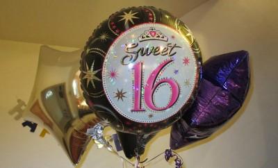 sweet sixteen ballonnen