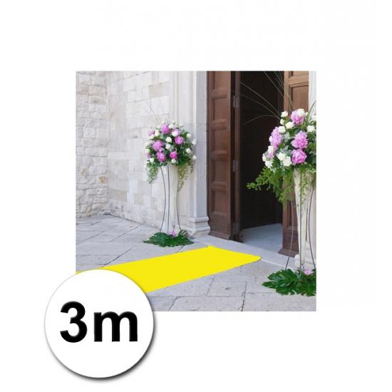 3 meter gele lopers 1 meter breed bestellen sweet16feest for Ladenblok 1 meter breed